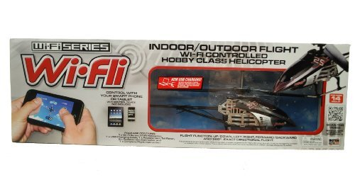 Wi - Fli Indoor / Outdoor Hobby Helicopter by WI-FI SERIES -