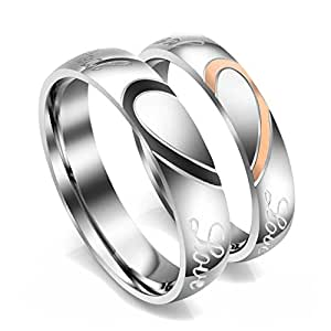 zysta bague couple rings amoureux anneaux real love grav. Black Bedroom Furniture Sets. Home Design Ideas