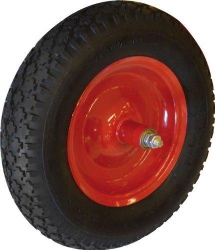 Pneumatische Rad (Pneumatische Schubkarre Maurer Raddurchmesser 350 mm 150 mm Achse)