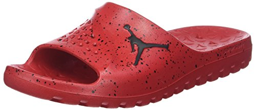 Nike Herren Jordan Super.Fly Team Slide Basketballschuhe, Rot (University Red/Black/Black 611), 45 - Schuhe Jordan Männer
