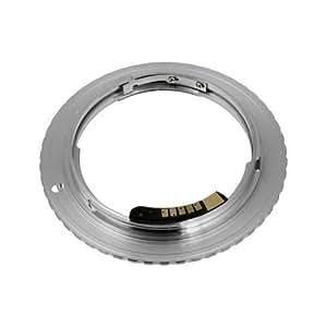 Fotodiox Adaptateur de monture d'objectif avec Puce de Confirmation de Mise au Point pour Objectif Contax / Yashica -C/Y/ CY  à Caméra Canon EOS comme EOS 7D/ 5D/ 60D et Rebel T3