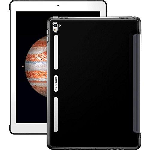 Cover iPad Pro 9.7 Puro Colore,Custodia Hard Case ESR trasparente Tablet (telaio del silicone + PC duro Back) Case and Cover per iPad Pro 9 7 (2016 Version) copertura delle coperture trasparente della copertura posteriore di TPU
