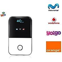Tianjie 100Mbps 4G WIFI Mobile Hotspot Router Car Mifi Módem Mobile Broadband Wireless Router Soporte Movistar / Orange / Vodafone / Yoigo, B3 (2100mhz)