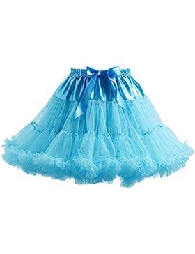 Pettiskirt faldas cortas de tul de las señoras del ballet tutú de faldas