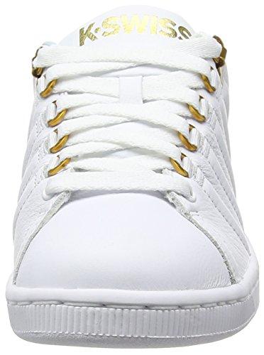 K-Swiss Lozan Iii, Sneakers basses femme Blanc - White (White/Clearwater/Freesia)