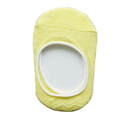 Calcetines amarillos bebe de color amarillo pollito