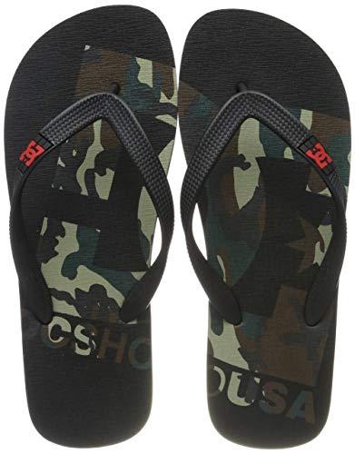 DC Shoes Herren Spray Graffik Sport Sandalen, Schwarz (camo White CMW), 46 EU