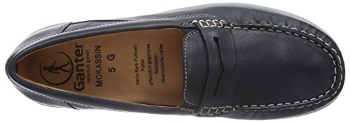 Ganter Grace, Weite G, Mocassins (Loafers) Femme Bleu (ozean 3000)