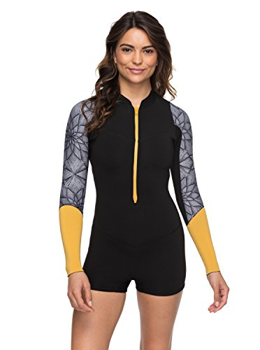 Roxy 2mm Pop Surf - Long Sleeve Front Zip Springsuit - Frauen (Langarm-springsuit)