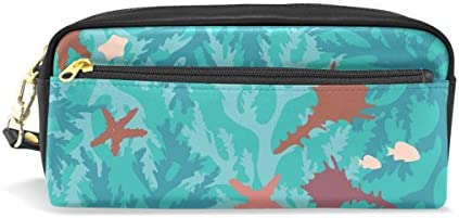 Eslifey Pochette portable en similicuir avec motif étoile de mer Bleu B07MGTCFPJ   Outlet Online Shop