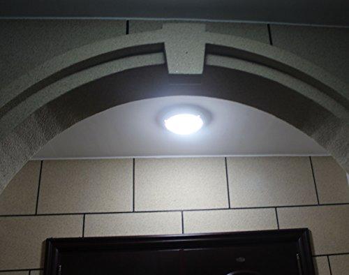 Plafoniera Esterna Con Sensore : Zeyun plafoniera a soffitto parete con sensore microonde 16w