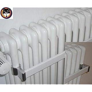Arbonia Handtuchhalter für Röhrenradiator weiss Länge wählbar kürzbar, Zehnder (1000 mm)