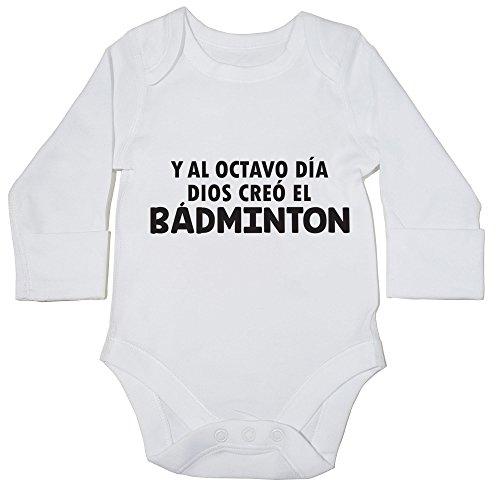 HippoWarehouse Y Al Octavo Día Dios Creó El Bádminton body manga larga bodys pijama niños niñas unisex