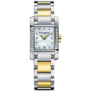Baume & Mercier Women'S 8599 Diamant Two-Tone Diamond Watch