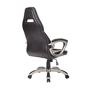 41jW m0CE7L. SS300  - Homcom-Racing-Gaming-deporte-silla-giratoria-silla-de-escritorio-de-cuero-ejecutiva-silla-de-oficina-PC-de-la-computadora-sillas-altura-ajustable-silln