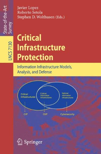 Critical  Infrastructure Protection: Advances in Critical Infrastructure Protection: Information Infrastructure Models, Analysis, and Defense (Lecture Notes in Computer Science)