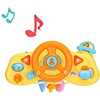 Lenkrad für Baby Kinder Sound/&Licht Spielzeug Autofahrer Lenkrad