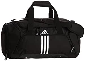 adidas Sporttasche Essentials 3-stripes Teambag, Black/White, 37 Liter, X33402
