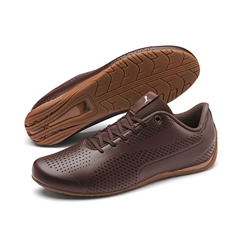 PUMA Drift Cat 5 Ultra II Sneaker Chocolate Brown-Puma Silver UK 11_Adults_FR 46
