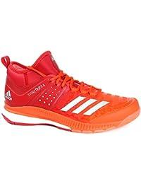 Adidas - Zapatillas de vóleibol Crazyflight X Mid, Hombre, Arancione