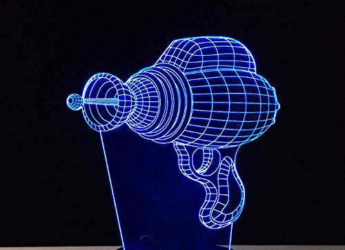 Luz De Noche 3D Led Taladro Eléctrico Juguete Para