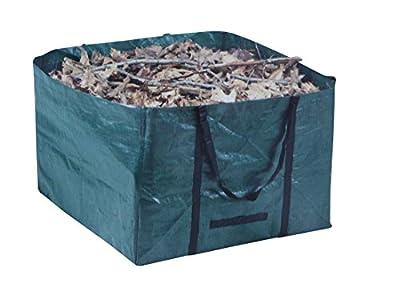 Abfallsack PE eckig 245 ltr. grün, Laubsack, Rasensack, Gartentasche,Gartenmüll von Fachhandel-Plus auf Du und dein Garten