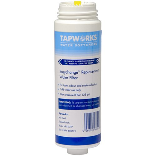 Tapworks Easychange Water Filter Tap System Replacement Cartridge 6 Month Q5486 Test