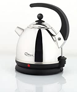 ottoni fabbrica italian top kettle alice nero 2400w 1 7. Black Bedroom Furniture Sets. Home Design Ideas