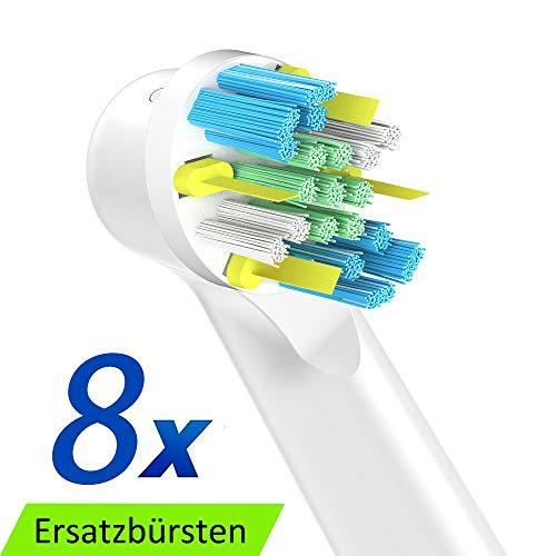 FlossAction Cabezal de Recambio Para Oral-B Cepillo de Dientes Eléctrico 5e4db87c0a50