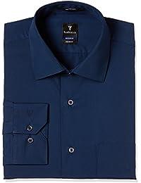 Van Heusen Men's Plain Regular Fit Cotton Formal Shirt