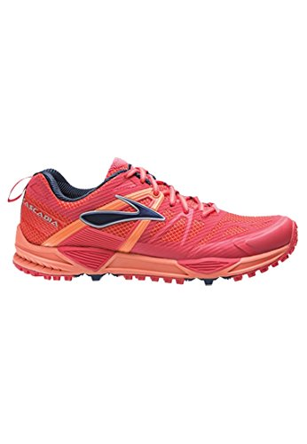 buy popular c8ff5 64671 Brooks Cascadia 10 W, Chaussures de Running Compétition Femme, Red SAUMON
