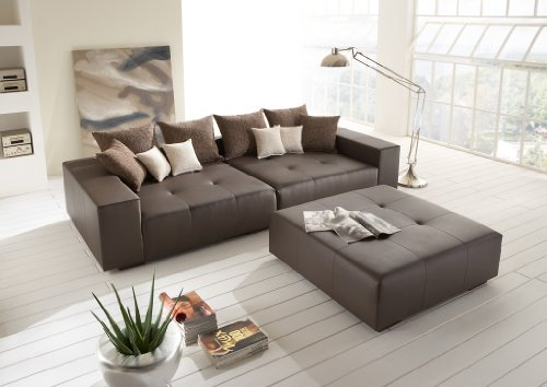 big sofa mit hocker bestseller shop f r m bel und. Black Bedroom Furniture Sets. Home Design Ideas