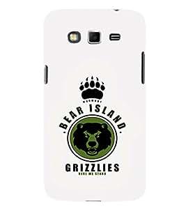 EPICCASE Bear island Grizzlies Mobile Back Case Cover For Samsung Galaxy Grand Max (Designer Case)