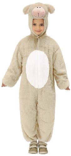 Imagen de widman  disfraz de oveja para niña, talla 5  8 años 9787l