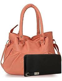 Flora Premium PU Leather Traditional Design Women's Sling Bag With Adjustable Strap (Purple Color)