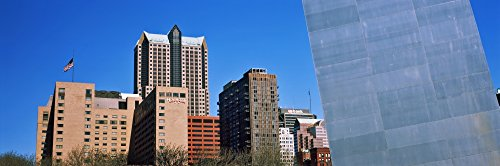 The Poster Corp Panoramic Images - Low Angle View of Buildings Hyatt Hotel St. Louis Missouri USA Photo Print (68,58 x 22,86 cm) Missouri Hotel