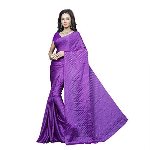 Sonika Brasso Saree (Cnn003_Purple)