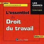 L'essentiel du droit du travail de Dominique Grandguillot