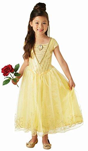 Prinzessin Belle Kostüm Disney (Disney Kostüm Die Schöne und das Biest Prinzessin Belle 3 bis 4)