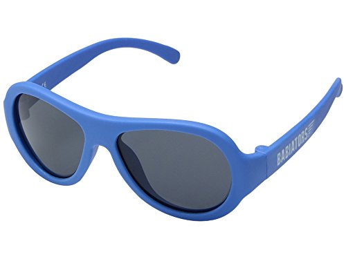 Babiators Baby Original Aviators Uv-Sonnenbrille, True Blue, 0-2 Jahre