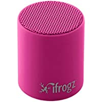 iFrogs Pop Enceinte Compact rechargeable avec Bluetooth Rouge