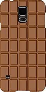 Snoogg Chocolate Case Cover For Samsung Galaxy S5