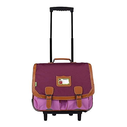 Trolley 41 violet-parme Tann's ICONIC