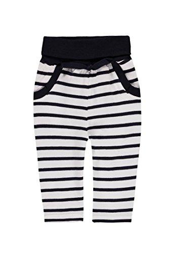 Steiff Baby-Jungen Hose Jogginghose 6712516, Mehrfarbig (y/d Stripe 0001), 74