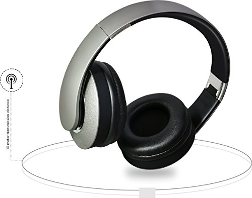 Intex Wireless Headphone Rock BSH-2000 (Yellow, Grey and Brown)