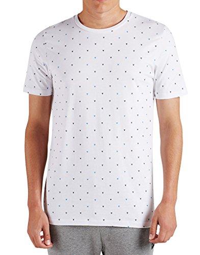 JACK & JONES Herren T-Shirt Weiß weiß Weiß