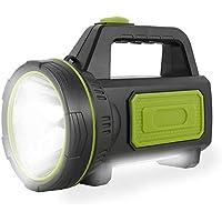 Torcia LED Ricaricabile USB Impermeabile con Luce Laterale Torcia Potente da 135000 Lumen 6000mah per Escursionismo di…