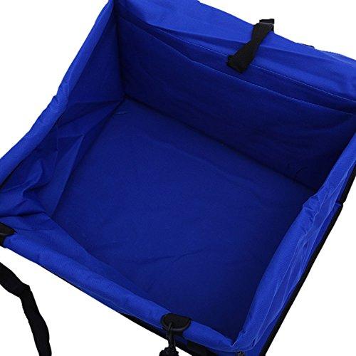 Fjiujin,Vordersitz Einzelsitzbox Universal Pet Car Seat Wasserabweisend(Color:BLAU) -