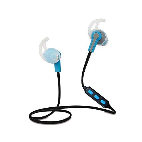 thanly Bluetooth cuffie auricolari stereo Bluetooth Wireless Bluetooth 4.1Sport Auricolari