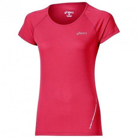 ASICS Damen Funnelneck T-Shirts, pink, M Preisvergleich